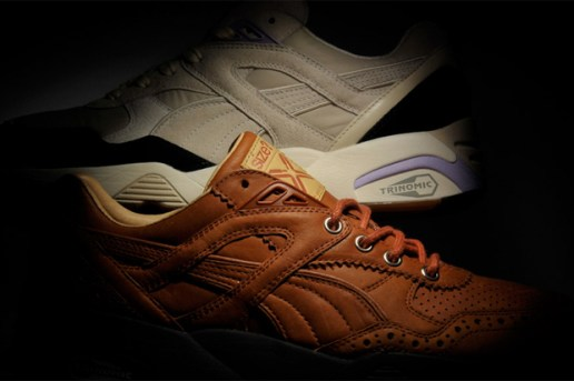 "Size? x Sneaker Freaker x PUMA R698 ""Reaction"" Collection"