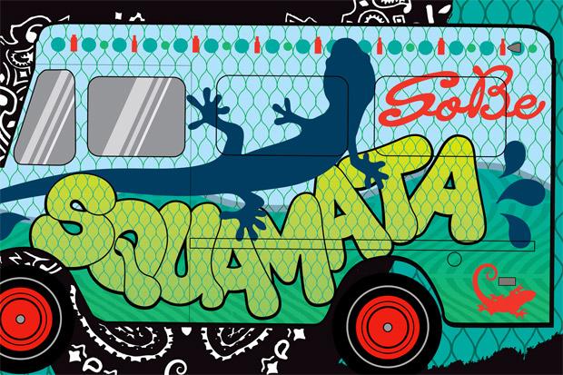 """SoBe Squamata """"Lean Into Summer"""" Event"""