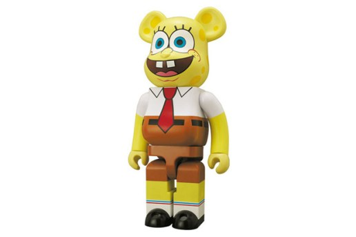 SpongeBob SquarePants x Medicom Toy 1000% Bearbrick