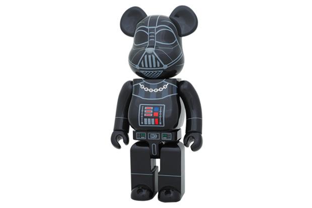 Stussy x Star Wars x Medicom Toy Darth Vader 400% Bearbrick