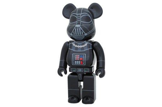Stussy x Star Wars x Medicom Toy Darth Vader 400% Bearbrick
