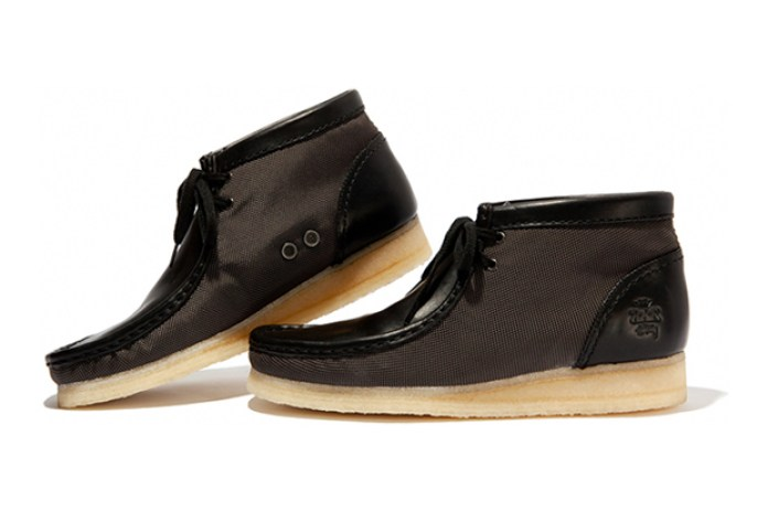 Stussy XXX × Clarks Originals Wallabee Boot Ballistic