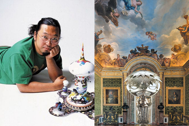 Takashi Murakami Exhibition @ The Chateau de Versailles