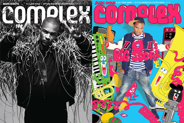 Complex Magazine: T.I. x Jose Parla & B.o.B. x REAS 2010 August/September Issue