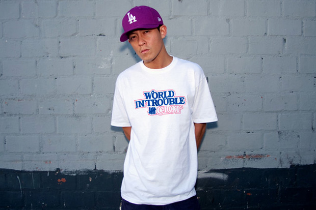 """CLOT x UNDFTD """"World in Trouble"""" Tee"""