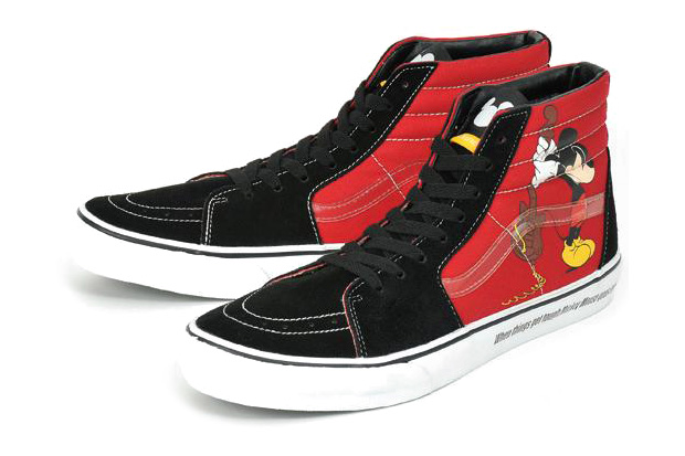 "Vans x Disney ""Mickey Mouse"" SK8-HI"