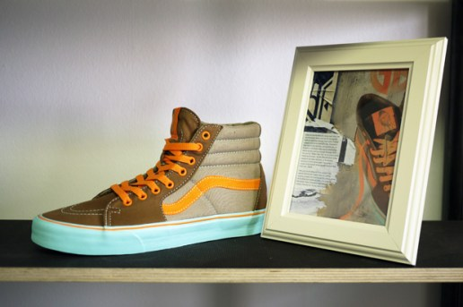 Gorilla Biscuits x Vans SK8-HI Preview