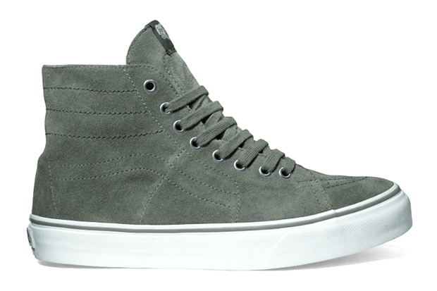 Vans 2010 Fall Collection Sk8-Hi Deconstruct Suede