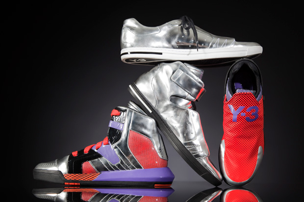 "Y-3 ""METALLIC NEO TECH"" Footwear Collection"