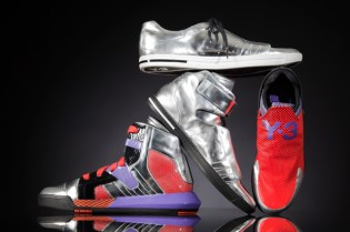 "Y-3 ""METALLIC NEO TECH"" Footwear Collection"