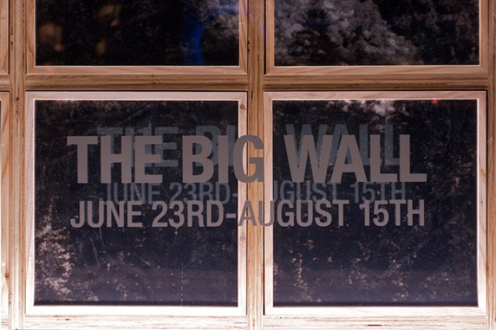 """The Big Wall"" Exhibition featuring Yuri Shibuya at The North Face Standard"