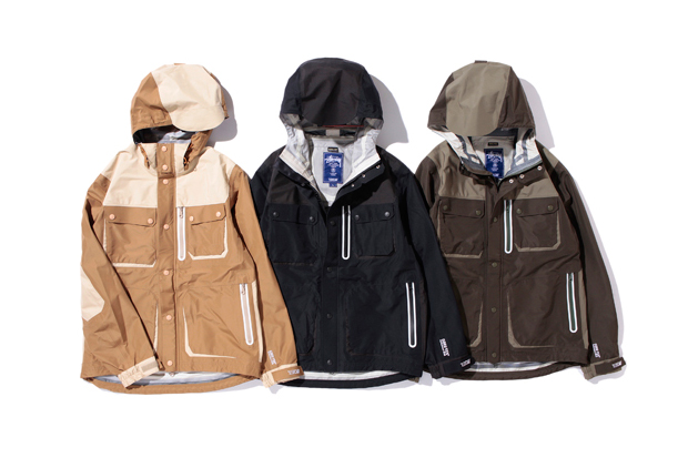 13DW x Stussy Gore-Tex Tactics Field Jacket