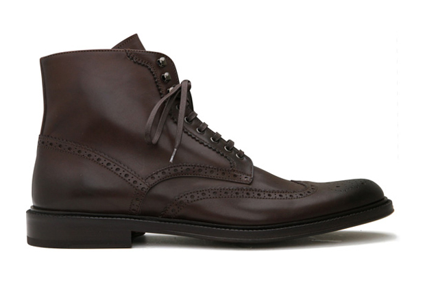 Alexander McQueen 2010 Fall/Winter Wingtip Brogue Boots