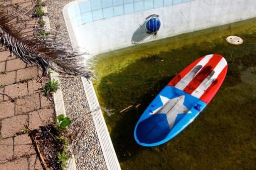 "Ari Marcopoulos x ZED Surf ""Ari Biscuit"" Surfboard"