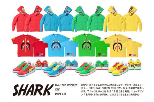 A Bathing Ape 2010 Fall/Winter Shark Collection