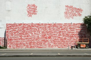 Barry McGee x Josh Lazcano Mural in New York City