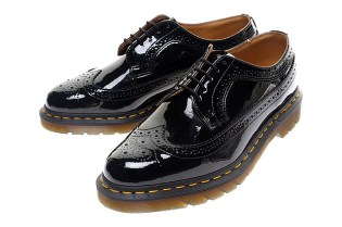BEAMS x Dr. Martens Patent Wing-Tip