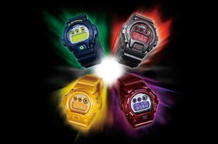 """Casio G-SHOCK """"Mirror Face"""" Collection New Releases"""
