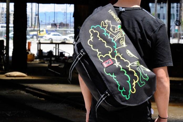 Chrome x Krooked Skateboards Messenger Bag