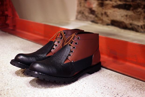 COMME des GARCONS Homme Plus 2010 Fall/Winter Short Boot