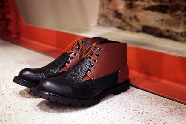 COMME des GARCONS Homme Plus 2010 Fall/Winter Short Boot
