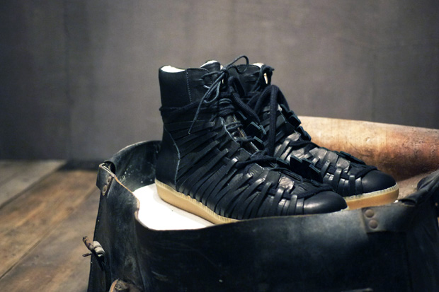 Damir Doma 2010 Fall/Winter Leather Lace-Up Sneaker