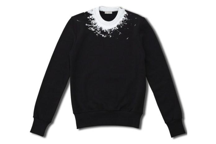 Dior Homme Splatter Crewneck Sweater