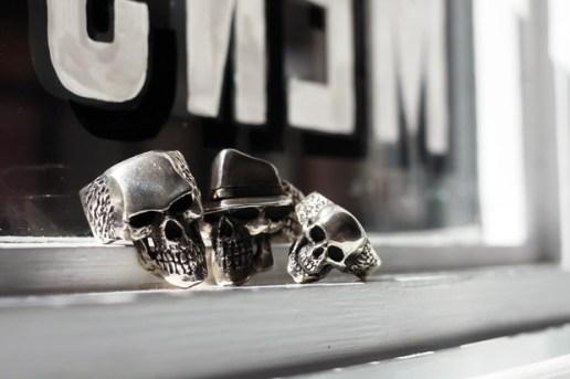 Dog State Skull Rings