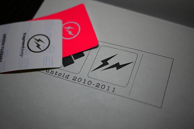 fragment design x untold 2010-2011 Announcement