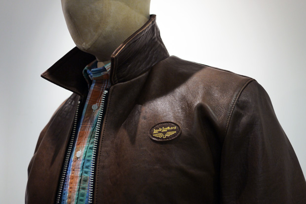 "Garbstore x Lewis Leather ""Flying Dominator"" Jacket"