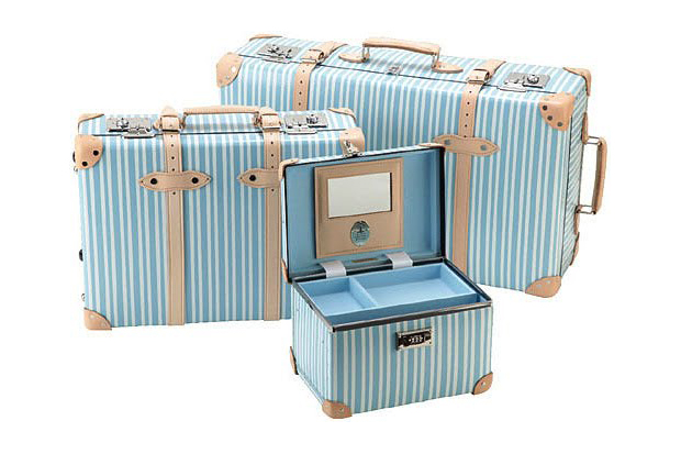 """Globe-Trotter """"Azure"""" Luggage Collection"""