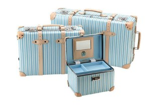 "Globe-Trotter ""Azure"" Luggage Collection"