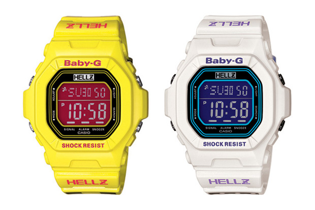 Hellz x Casio Baby-G Watches