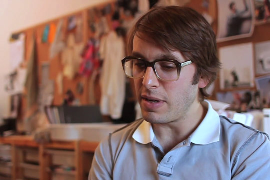 """I Make Clothes"": Scott Sternberg of Band of Outsiders"