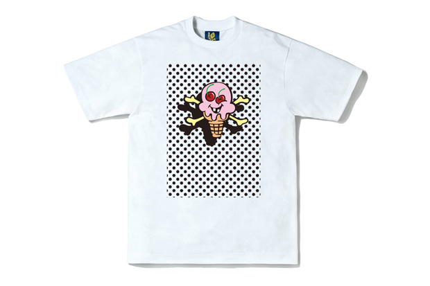 "Ice Cream ""Floating Cones & Bones"" T-Shirt"