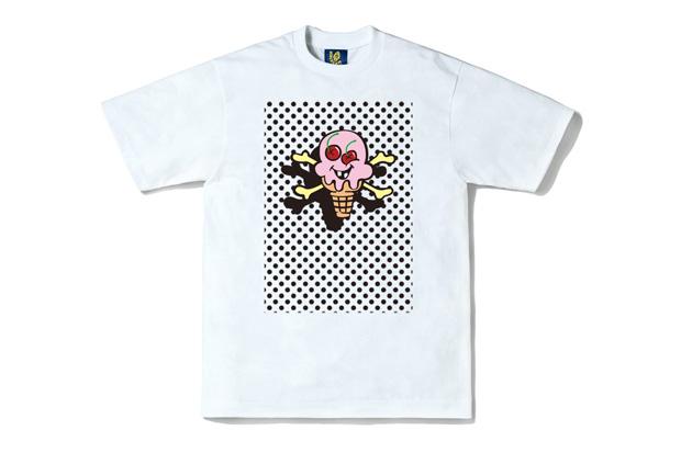 """Ice Cream """"Floating Cones & Bones"""" T-Shirt"""