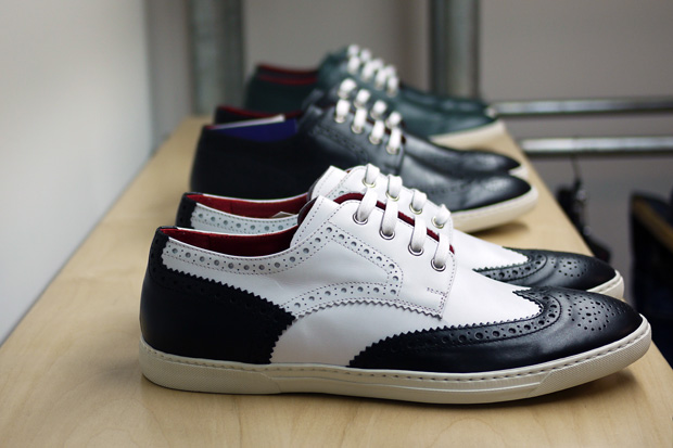 Junya Watanabe COMME des GARCONS MAN x Tricker's Brogue Sneakers