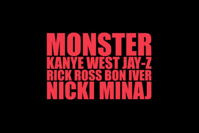 Kanye West featuring Jay-Z, Rick Ross, Bon Iver & Nicki Minaj - Monster