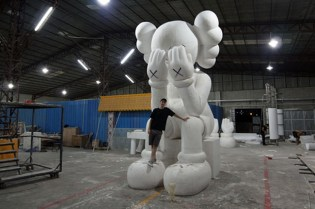 "KAWS Companion ""PassingThrough"" Preview"