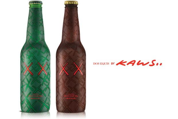 KAWS x Dos Equis Beer Bottles