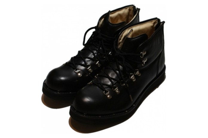 mastermind JAPAN Leather Mountain Boots