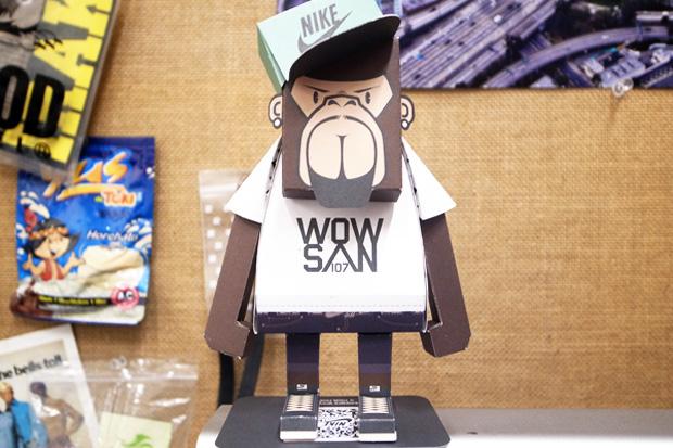 MOMOT x Nike Sportswear WOWSAN107 Figure