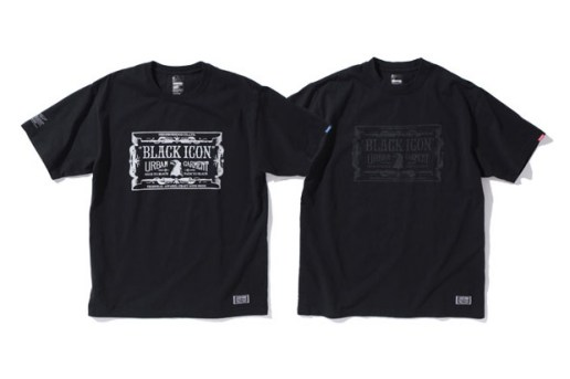 "NEIGHBORHOOD ""BLACK ICON"" T-Shirt Webstore Exclusive"
