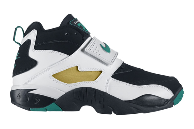 Nike Air Diamond Turf Black/Deep Emerald