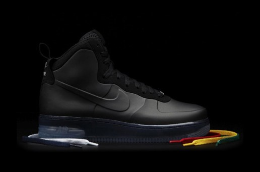 "Nike Sportswear Air Force 1 High ""Black Foamposite"" Preview"