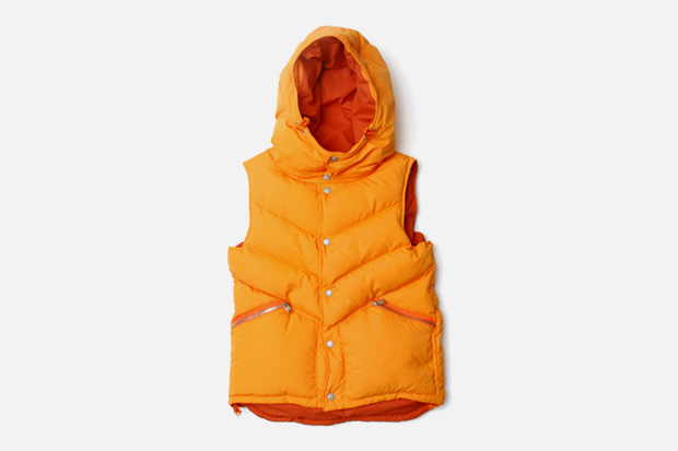 nonnative Mountaineer Hooded Down Vest
