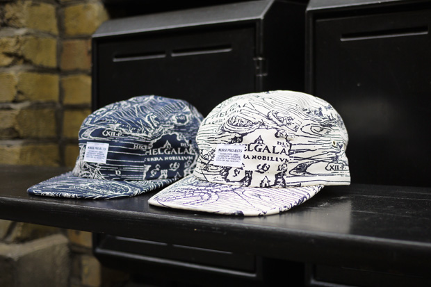 Norse Projects Printed 5 Panel Cap