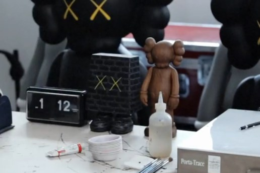 OriginalFake KAWS Wooden Companion Preview
