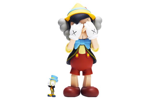 OriginalFake x Medicom Toy Pinocchio & Jiminy Cricket - A Closer Look