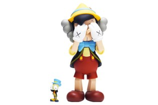 OriginalFake x Medicom Toy Pinocchio & Jiminy Cricket - A Closer Look